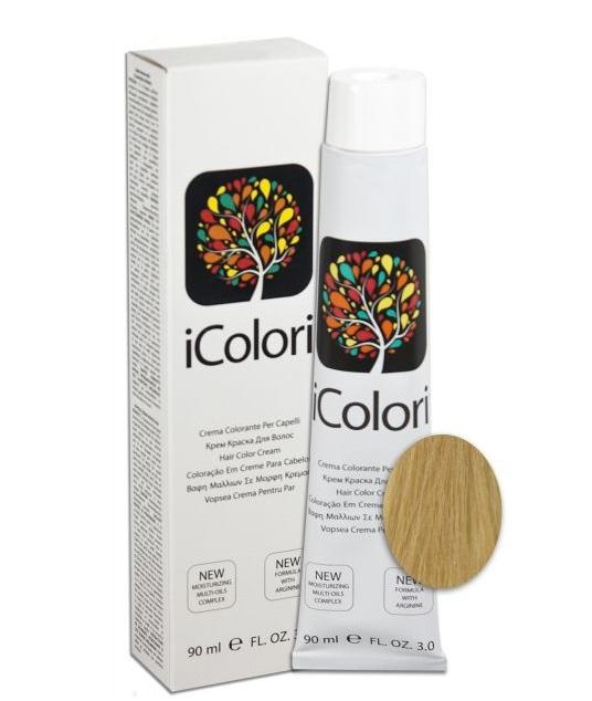 KAYPRO 9.33 краска для волос, интенсивный очень светлый блондин золотистый / ICOLORI 90 мл