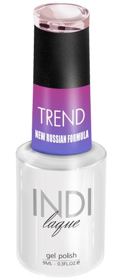 Купить RuNail 5015 гель-лак для ногтей / INDI laque Trend 9 мл, Розовые