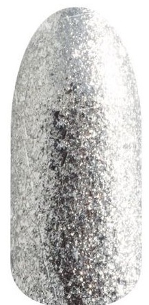 RuNail 3754 гель-лак для ногтей, серебро / Lurex 5 г