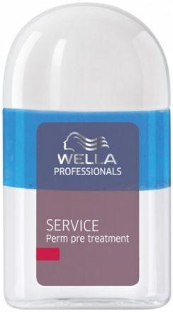 WELLA Крем-уход перед завивкой 18млКремы<br>В двухфазном ухаживающем средстве смешиваются кремовая и прозрачная составляющие, которые идеально подготавливают волосы к процедурам химической завивки или выпрямления волос. Активные ингредиенты: они одновременно защищают волосы и выравнивают их поверхность, делая волосы более гладкими. Пантенол нормализует работу волосяных фолликул, увеличивая плотность структуры волоса. Способ применения: - нанести на всю поверхность волос и только на пористые участки перед процедурой завивки/выпрямления. - по окончании процедуры обязательно нанести стабилизатор завивки.<br><br>Объем: 18 мл