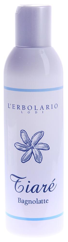 LERBOLARIO Молочко для тела Тиаре 200 млМолочко<br>Моющее молочко для тела Тиаре с сладким запахом цветка таитянской гардении поведает вам о моментах удовольствия и наслаждения. Обильная мягкая и ароматная пена примет вас в свои объятия, когда вы погружаетесь в ванну или принимаете душ, а ценные действующие вещества, входящие в состав молочка, позаботятся о красоте вашей кожи. Наряду с молочком из таитянской гардении, антиоксидантное, увлажняющее и защитное действие которого трудно переоценить, воздействие на кожу оказывает также кокосовое молочко и ПАВ из кокосового масла. Они придают этому молочку свойства нежнейшего моющего средства, не наносящего вреда даже самой чувствительной коже. После каждого мытья ваша кожа становится необыкновенно мягкой и бархатистой, и приобретает легкий ни с чем не сравнимый аромат цветов тиаре. А в вашей ванне на какое-то время поселится атмосфера далеких экзотических островов Полинезии.  Активные ингредиенты: Молочко из таитянской гардении, кокосовое молочко, ПАВ из кокосового масла.  Способ применения: Достаточно добавить две или три ложки средства в ванну или нанести на губку, чтобы получить нежную и пышную пену, нежный аромат свежести которой надолго сохранится на коже.<br><br>Вид средства для тела: Антиоксидантный