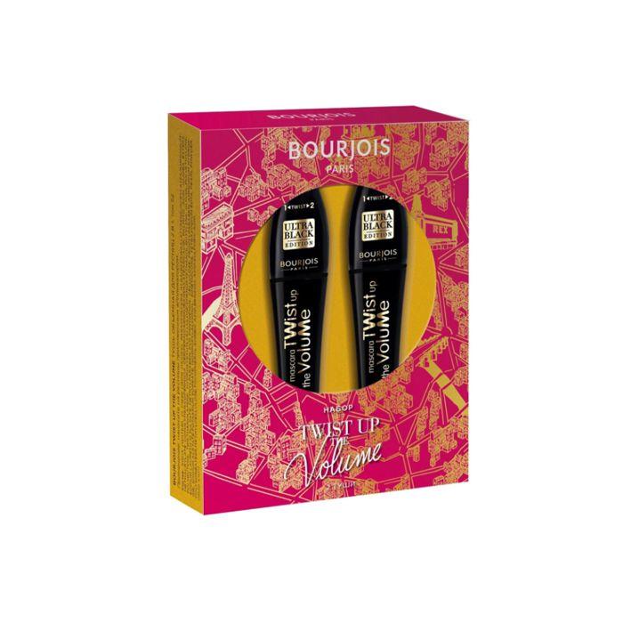 Купить BOURJOIS Набор подарочный тушь объемная для ресниц 2 в 1 / Twist Up The Volume, Ultra Black 2 шт