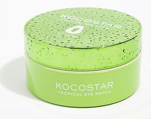 KOCOSTAR Патчи гидрогелевые для глаз Тропические фрукты, папайя / Tropical Eye Patch Papaya Jar 60 патчей - Патчи