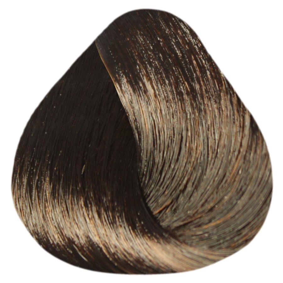 ESTEL PROFESSIONAL 5/77 краска д/волос / DE LUXE SENSE 60млКраски<br>5/77 светлый шатен коричневый интенсивный Разнообразие палитры оттенков SENSE DE LUXE позволяет играть и варьировать цветом, усиливая естественную красоту волос, создавать яркие оттенки. Волосы приобретут великолепный блеск, мягкость и шелковистость. Новые возможности для мастера, истинное наслаждение для вашего клиента. Полуперманентная крем-краска для волос не содержит аммиак. Окрашивает волосы тон в тон. Придает глубину натуральному цвету волос, насыщает их блеском и сиянием. Выравнивает цвет волос по всей длине. Легко смешивается, обладает мягкой, эластичной консистенцией и приятным запахом, экономична в использовании. Масло авокадо, пантенол и экстракт оливы обеспечивают глубокое питание и увлажнение, кератиновый комплекс восстанавливает структуру и природную эластичность волос, сохраняет естественный гидробаланс кожи головы. Палитра цветов: 68 тонов. Цифровое обозначение тонов в палитре: Х/хх   первая цифра   уровень глубины тона х/Хх   вторая цифра   основной цветовой нюанс х/хХ   третья цифра   дополнительный цветовой нюанс Рекомендуемый расход крем-краски для волос средней густоты и длиной до 15 см   60 г (туба). Способ применения: ОКРАШИВАНИЕ Рекомендуемые соотношения Для темных оттенков 1-7 уровней и тонов EXTRA RED: 1 часть крем-краски SENSE DE LUXE + 2 части 3% оксигента DE LUXE Для светлых оттенков 8-10 уровней: 1 часть крем-краски ESTEL SENSE DE LUXE + 2 части 1,5% активатора DE LUXE. КОРРЕКТОРЫ /CORRECTOR/ 0/00N   /Нейтральный/ бесцветный безамиачный крем. Применяется для получения промежуточных оттенков по цветовому ряду. 0/66, 0/55, 0/44, 0/33, 0/22, 0/11   цветные корректоры. С помощью цветных корректоров можно усилить яркость, интенсивность цвета, или нейтрализовать нежелательный цветовой нюанс. Рекомендуемое количество корректоров: 1 г = 2 см На 30 г крем-краски (оттенки основной палитры): 10/Х   1-2 см 9/Х   2-3 см 8/Х   3-4 см 7/Х   4-5 см 6/Х   5-6 см 5/Х   6-7 см 4/Х   7-8 