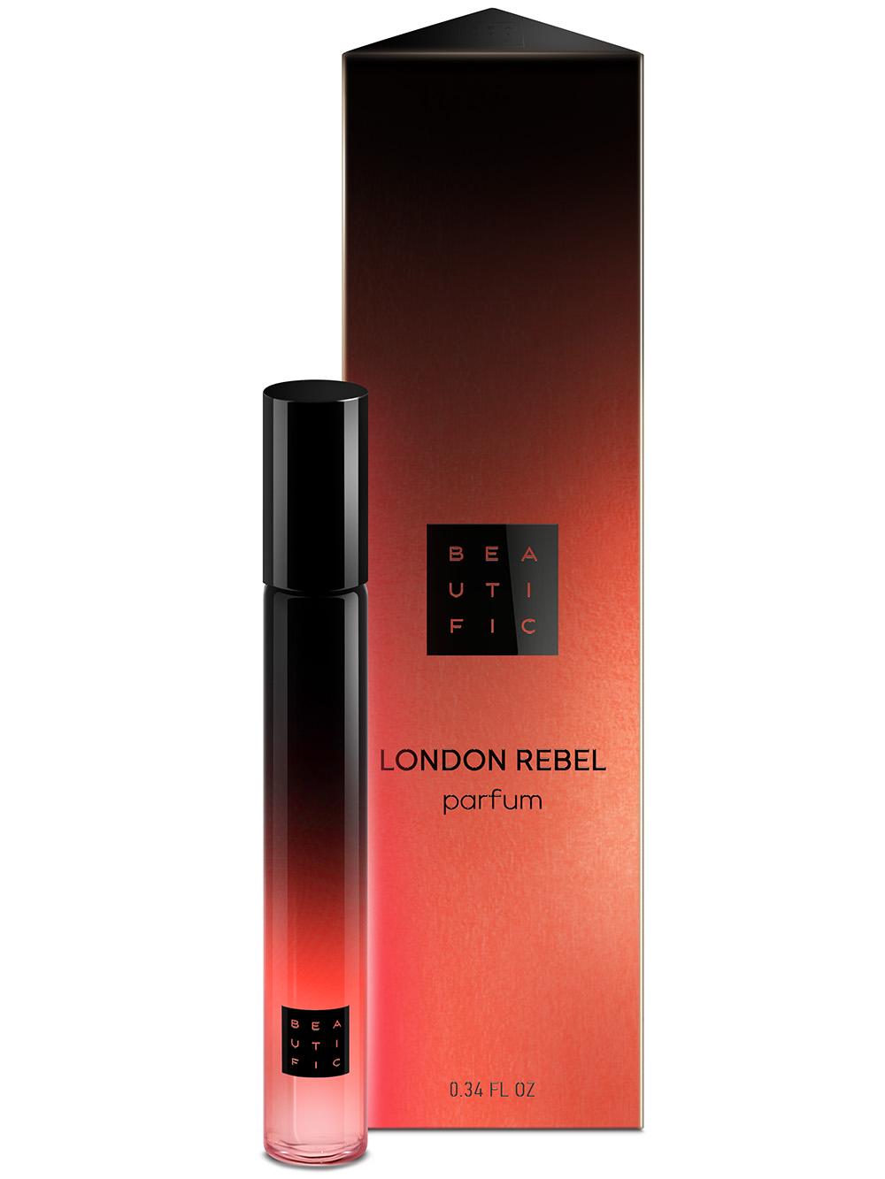 BEAUTIFIC Духи-роллер концентрированные ультра-стойкие London Rebel 10 мл