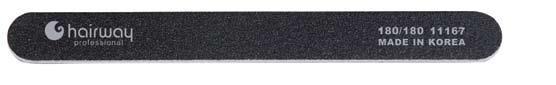 HAIRWAY Пилка стандарт черная 180/180Пилки для ногтей<br>Пилки для ногтей Hairway выполнены из высококачественного износостойкого материала, различной степени жесткости. Позволяют придать форму и блеск натуральным и искусственным ногтям. Пилки удобны в работе, имеют большой срок службы и легко дезинфицируются.<br>