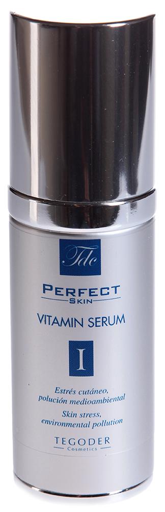 TEGOR Крем-эмульсия с витаминами для сухой и чувствительной кожи / PERFEKT SKIN 30млЭмульсии<br>Средство содержит идеально сбалансированную формулу активных компонентов, которые моментально успокаивают раздраженную кожу, восполняя необходимый запас витаминов и минералов в клетках. Кожа становится невероятно мягкой, нежной, ровной и шелковистой на ощупь. Морщинки разглаживаются, исчезают покраснения и раздражения, уменьшается выраженность сосудистого рисунка, лицо приобретает красивый ровный тон и безупречный внешний вид.   Благодаря крему-эмульсии с витаминами от Tegor ваша кожа станет восхитительно чистой и удивительно гладкой.   Активный состав: Экстракты колеуса форсколии, буддлеи изменчивой и рожкового дерева, олеиновая кислота, коллаген, семена сезама, микроэлементы.   Способ применения: Нанесите необходимое количество крема-эмульсии с витаминами от Тегор на кожу. Оставьте до полного впитывания.<br><br>Объем: 30