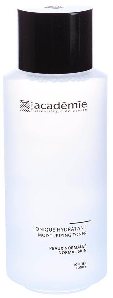 ACADEMIE Тоник увлажняющий / VISAGE 250млТоники<br>Тоник прекрасно восстанавливает баланс кожи после умывания. Обладает смягчающим, увлажняющим и подтягивающим действием. Подойдет для любого типа кожи, но особенно рекомендуется для сухой и обезвоженной кожи. Тоник насыщен растительными экстрактами, которые запускают процессы регенерации, даря коже чувство комфорта. Результат: Бархатистая, увлажненная, свежая кожа подготовлена к нанесению средств последующего ухода. Активные ингредиенты:&amp;nbsp;оригинальная яблочная вода 10 %, увлажняющий агент растительного происхождения 2 %,&amp;nbsp;экстракт свеклы 0.5 %,&amp;nbsp;Алоэ вера 0.2 %,&amp;nbsp;экстракт мальвы 0.05 %,&amp;nbsp;экстракт овса 0.05 %,&amp;nbsp;активные компоненты 12.8 %. Способ применения:&amp;nbsp;несколько капель тоника нанесите на ватный диск и протрите кожу лица без нажима. Процедуру проводите после этапа очищения   утром и вечером.<br><br>Объем: 250 мл<br>Вид средства для лица: Увлажняющий<br>Типы кожи: Сухая и обезвоженная