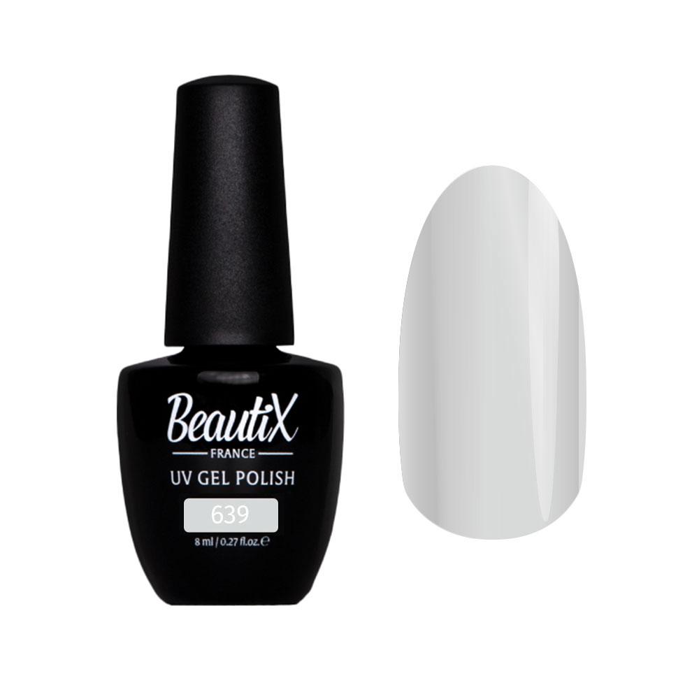 Купить BEAUTIX 639 гель-лак для ногтей 8 мл, Серые