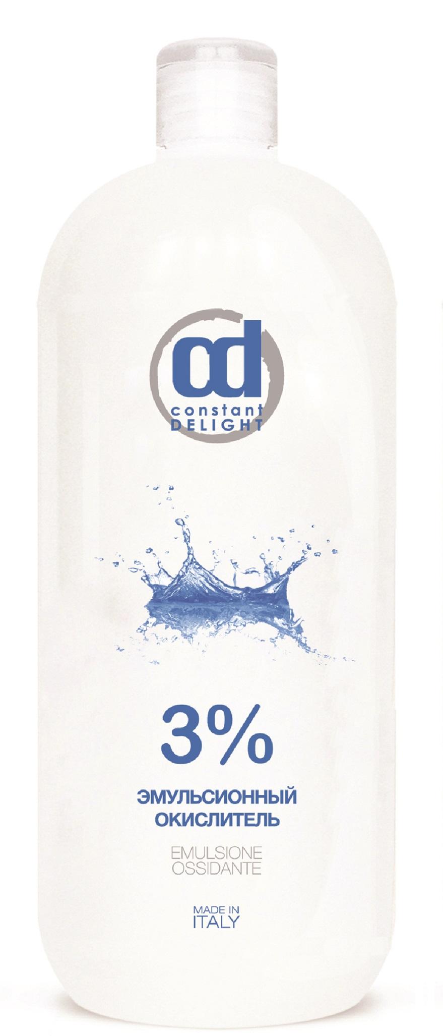 CONSTANT DELIGHT Окислитель эмульсионный 3% белый / Oxigent, 1000 мл