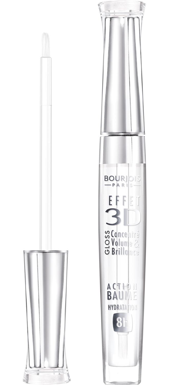 BOURJOIS Блеск для губ 18 / Effet 3D New transparent oniric - Блески для губ