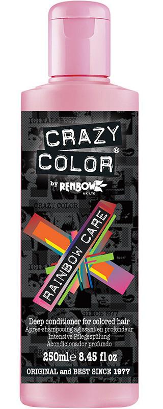 CRAZY COLOR Кондиционер радужный для волос / Rainbow Care Conditioner, 250 мл