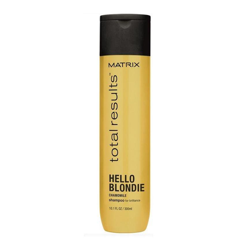 MATRIX Шампунь для светлых волос с экстрактом ромашки / HELLO BLONDIE 1000мл