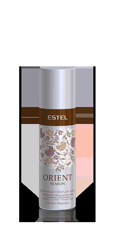 ESTEL PROFESSIONAL Спрей двухфазный для волос / ESTEL ORIENT SEASON, 100 мл