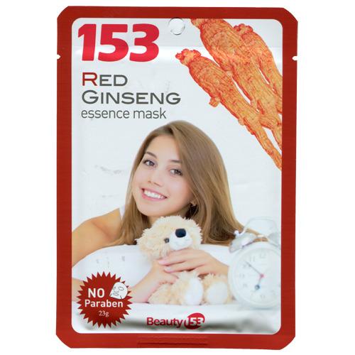 NESURA COSMETICS Маска-салфетка для лица с экстрактом Красного женьшеня 1шт