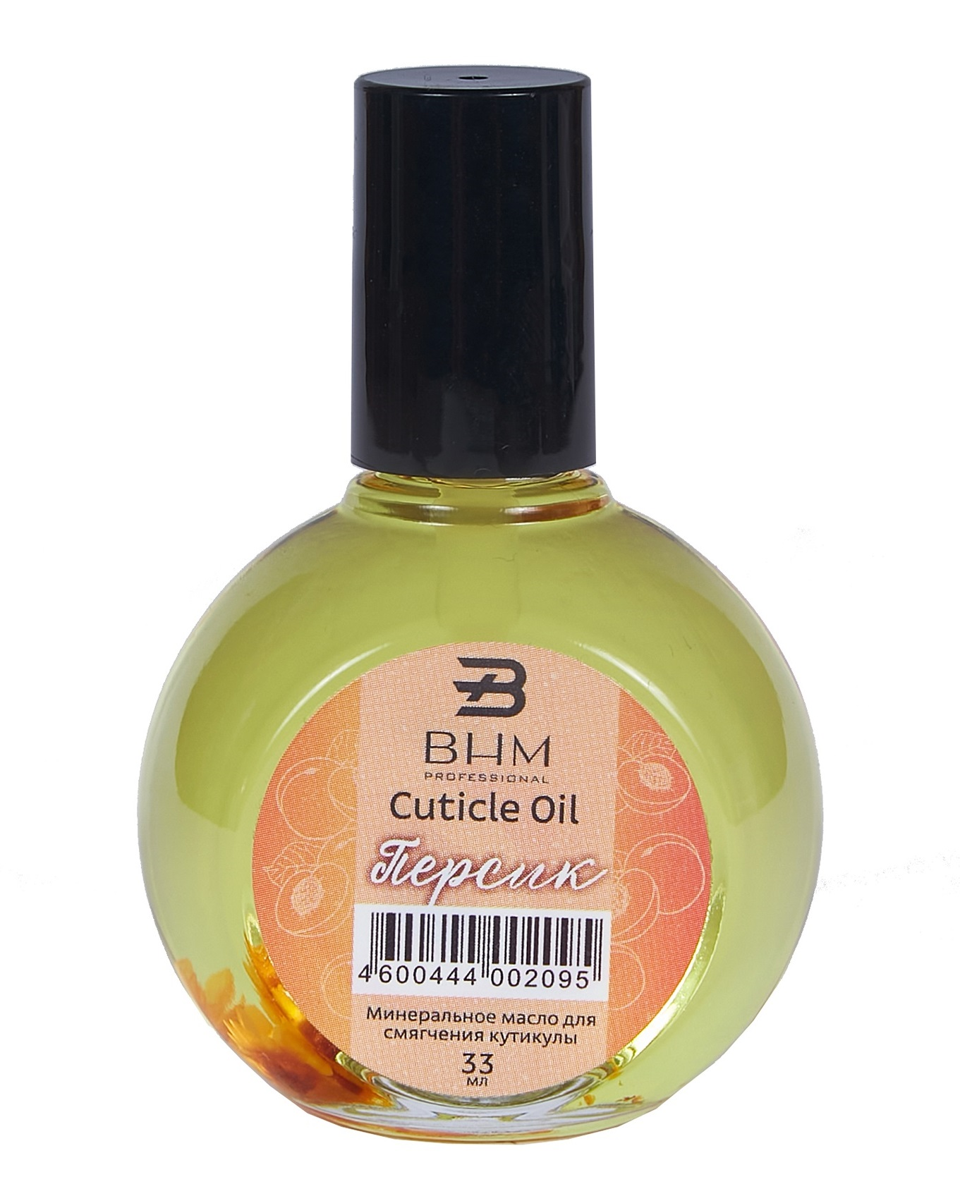 BHM PROFESSIONAL Масло для ногтей и кутикулы, персик 33 мл