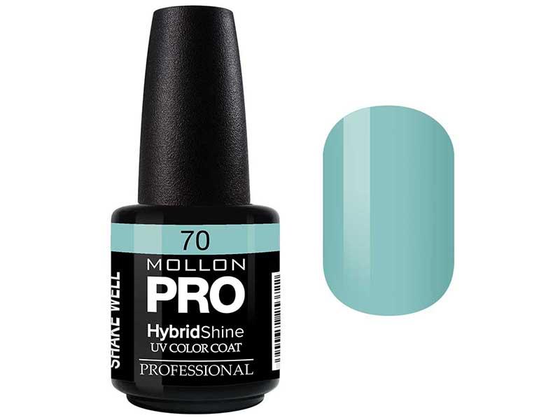 MOLLON PRO Гель-лак для ногтей УФ / HybridShine UV Color Coat  70 15мл
