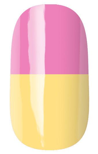 Runail 2947 гель-лак термо, розовый -
