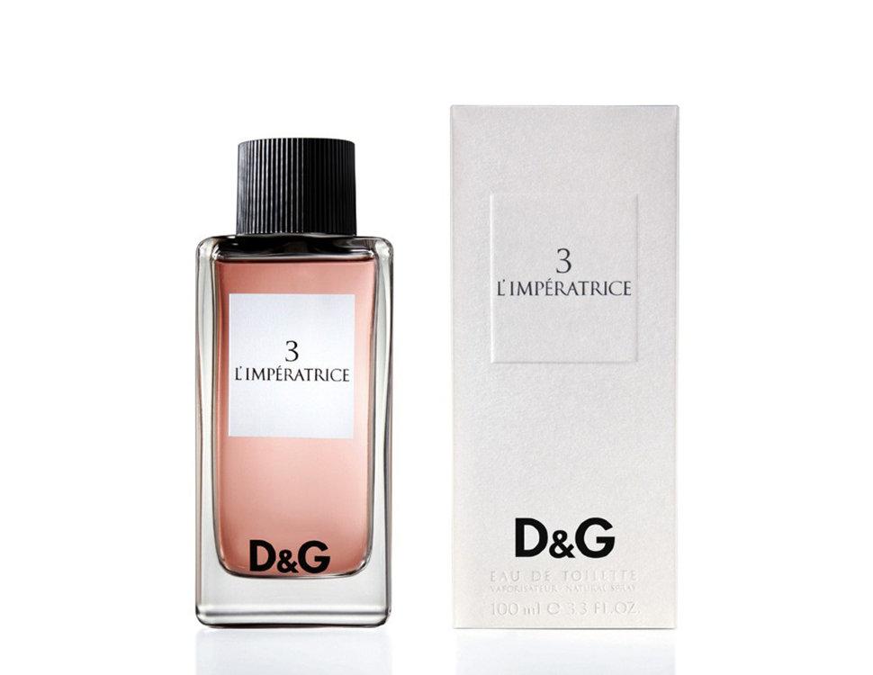DOLCE&GABBANA Вода туалетная женская Dolce&Gabbana 3-l`imperatrice 100 мл