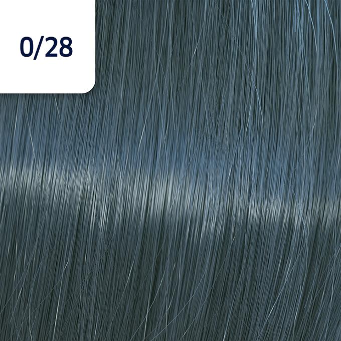 Купить со скидкой WELLA 0/28 краска для волос, матовый синий / Koleston Perfect ME+ 60 мл