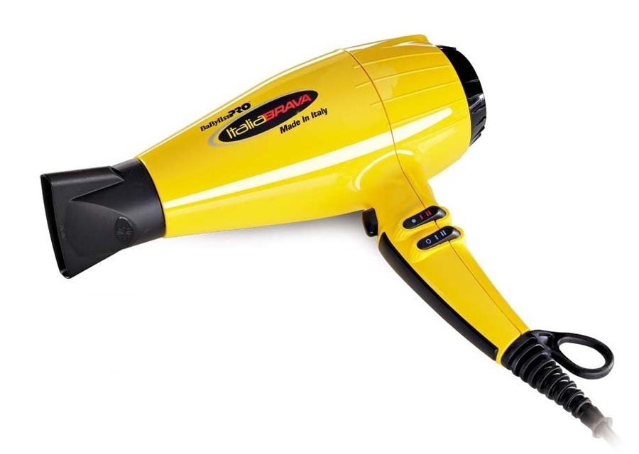BABYLISS Фен Bab Italia Brava 2400W BABFB1E желтый