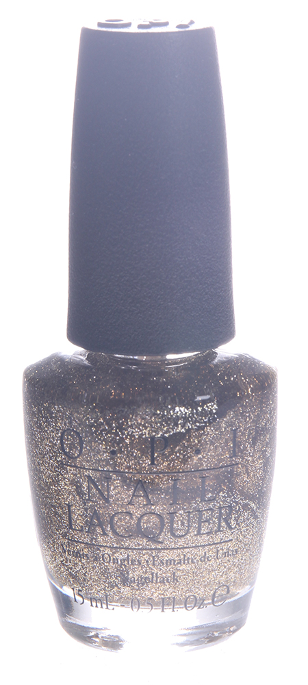 OPI Лак для ногтей All Sparkly and Gold / HOLIDAY MARIAH CAREY 15мл~