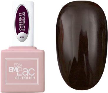 E.MI 029 гель-лак для ногтей, Каберне Бордо / E.MiLac 6 мл