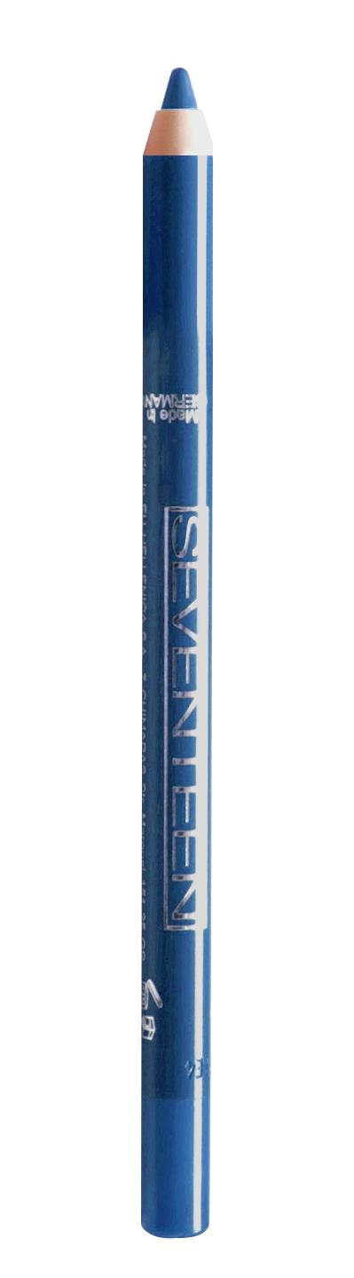 SEVENTEEN Карандаш водостойкий с витамином Е для век, 45 синий электрик / Super Smooth W/P & Longstay 1,2 г