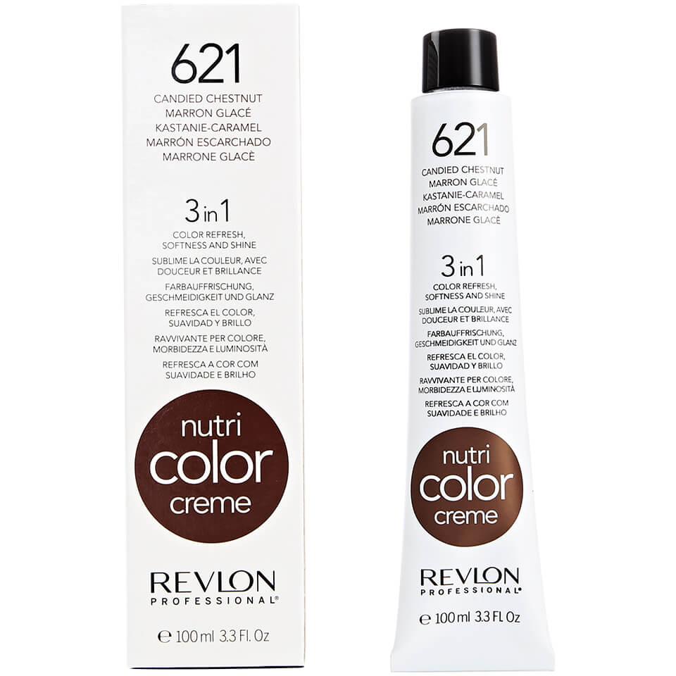 Купить REVLON Professional 621 краска 3 в 1 для волос, карамельный каштановый / NUTRI COLOR CREME 100 мл, Карамельный