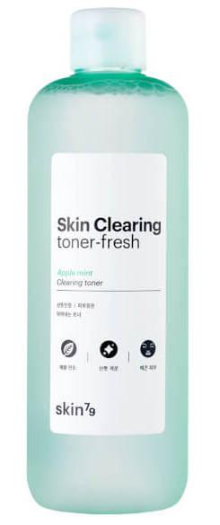 SKIN79 Тонер очищающий освежающий с мятой / Skin Clearing Toner Fresh 500 мл