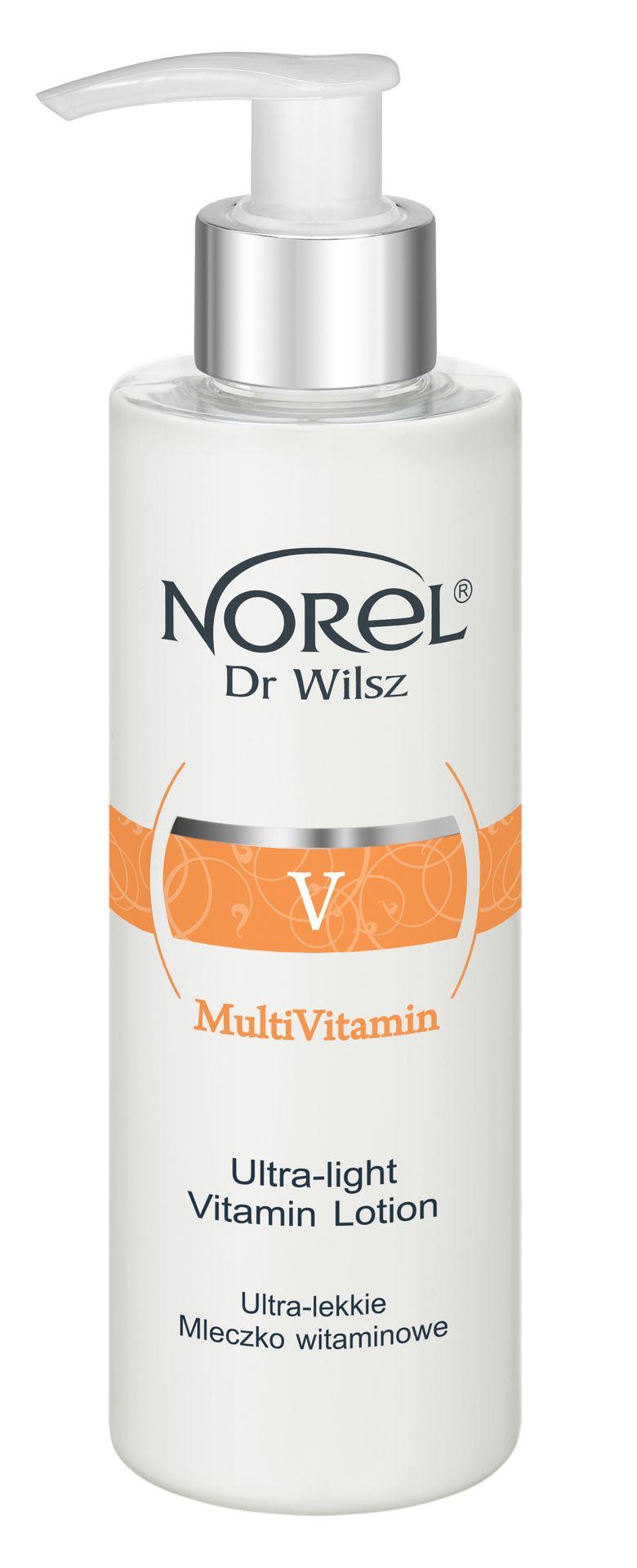 NOREL Dr. Wilsz Молочко очищающее ультралегкое с витаминным комплексом для лица / Ultra-light vitamin milk 200 мл - Молочко