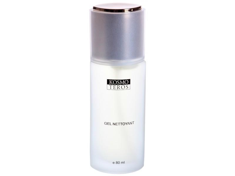 KOSMOTEROS PROFESSIONNEL Гель очищающий 80млГели<br>Универсальное пенящееся средство для очищения лица, шеи и декольте; для любого типа кожи, особенно рекомендовано для жирной и склонной к высыпаниям кожи. Мягкие поверхностно-активные вещества тщательно удаляют с кожи загрязнения эндогенного и экзогенного происхождения, не пересушивая ее. Обладает антисептическими свойствами и обеспечивает длительную защиту от патогенной микрофлоры. Подходит для всех типов кожи, включая чувствительную. Активные ингредиенты: Ферментат молочной сыворотки, Экстракты шалфея, белой ивы, эвкалипта, чистотела, Провитамин В5, Гиалуроновая кислота, Лимонная кислота, Глицерин, Хлоргексидин, Лаурил ПГ-тримониум хлорид. Способ применения: легкими круговыми движениями 1-1,5 мл геля нанести на проблемные участки с небольшим добавлением воды, смыть обильно водой.<br><br>Объем: 80 мл<br>Вид средства для лица: Очищающий
