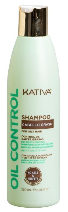 Купить KATIVA Шампунь для жирных волос Контроль / OIL CONTROL 250 мл