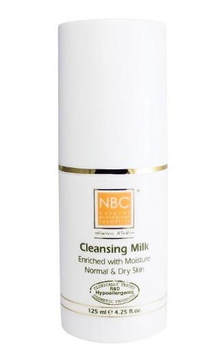 NBC Haviva Rivkin Молочко для нормальной и сухой кожи / Cleansing Milk For Normal and Dry Skin 125млМолочко<br>Нежное молочко с комфортными поверхностно-активными компонентами очищает кожу, удаляет макияж, грязь внешнего происхождения и продукты, которые выделяет кожа (разложившийся пот, метаболиты).Активные ингредиенты: стеариновая кислота, минеральное масло, триэталонамин.Способ применения: небольшое количество молочка наносят на лицо, массируют круговыми движениями по массажным линиям, затем удаляют влажным тампоном.<br>