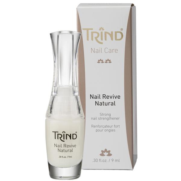 TRIND Укрепитель для ногтей глянцевый, без формальдегида / Nail Revive Natural 9 мл от Галерея Косметики