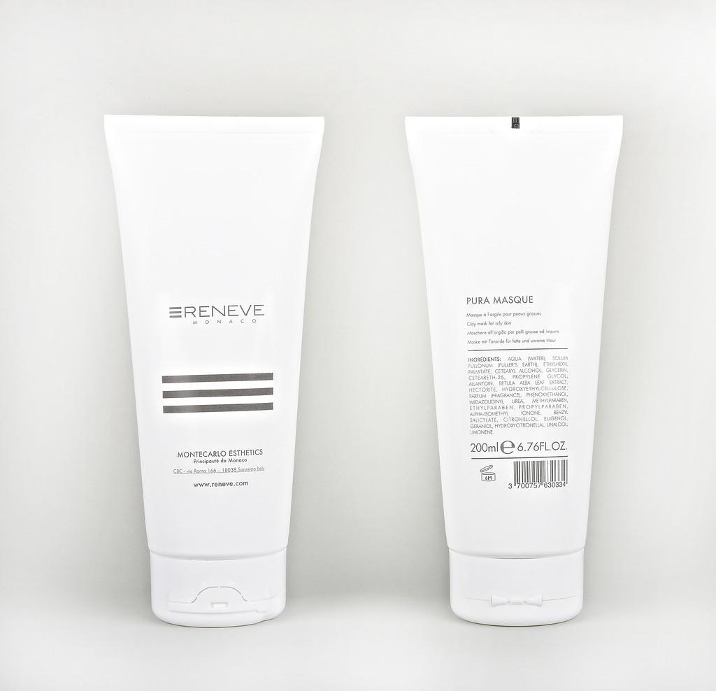 RENEVE Маска из глины для жирной кожи лица / PURA MASQUE 200мл