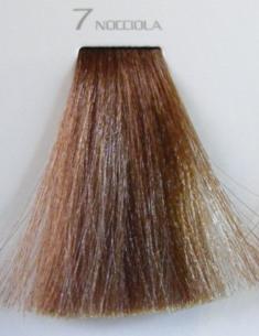 HAIR COMPANY 7 краска для волос nocciola / HAIR LIGHT CREMA COLORANTE 100млКраски<br>Профессиональная стойкая крем-краска для волос. Результат последних разработок ведущих специалистов и продукт высоких технологий. Профессиональная стойкая крем-краска Hair Light Crema Colorante богата натуральными ингредиентами и, в особенности, эксклюзивным мультивитаминным восстанавливающим комплексом. Новейший химический состав (с минимальным содержанием аммиака) гарантирует максимально бережное отношение к структуре волос. Применение исключительно активных ингредиентов и пигментов высочайшего качества гарантирует получение однородного и стойкого цвета, интенсивных и блестящих, искрящихся оттенков, кроме того, дает полное покрытие (прокрашивание) седых волос. Тона профессиональной стойкой крем-краски Hair Light Crema Colorante дают возможность парикмахеру гибко реагировать на любые требования, предъявляемые к окраске волос. Наличие 5 микстонов и нейтрального (бесцветного) микстона, позволяет достигать результатов окраски самого высокого уровня. Применение: Смешать Hair Light Crema Colorante с Hair Light Emulsione Ossidante в пропорции 1:1,5. Время воздействия 30-45 мин.<br><br>Цвет: Корректоры и другие<br>Объем: 100<br>Вид средства для волос: Стойкая<br>Класс косметики: Профессиональная