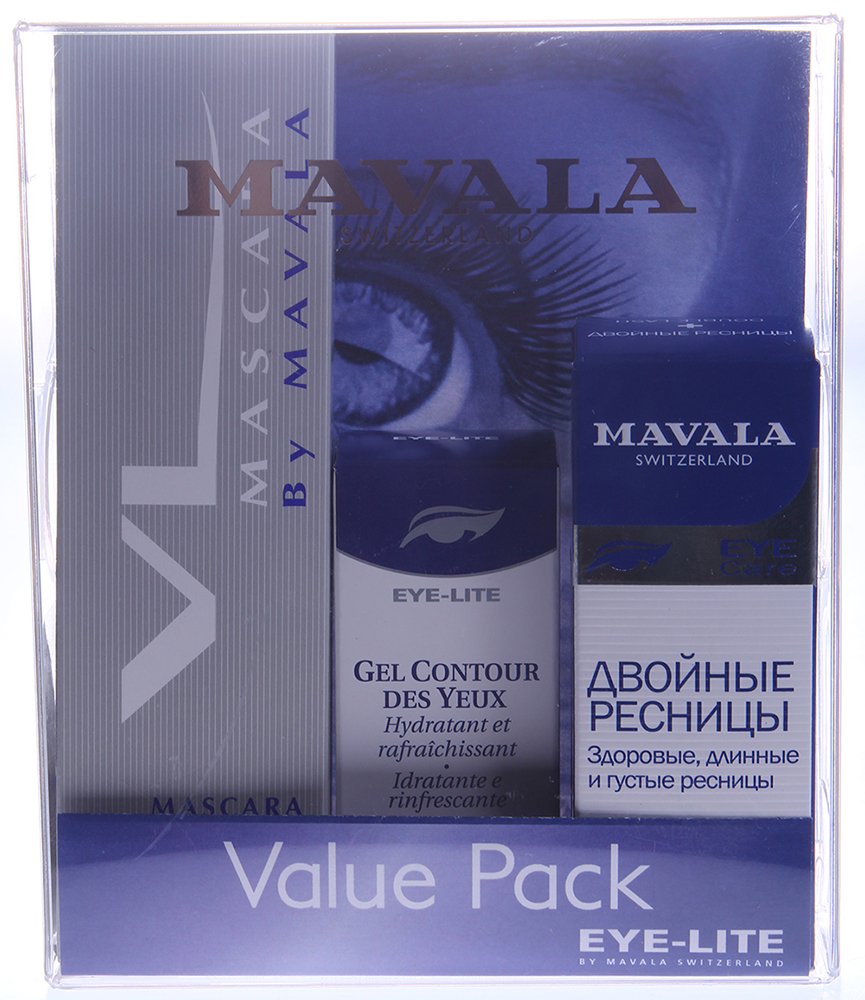 "MAVALA ����� ���������� ""��������� �������"" / Value pack Glamorous lashe"
