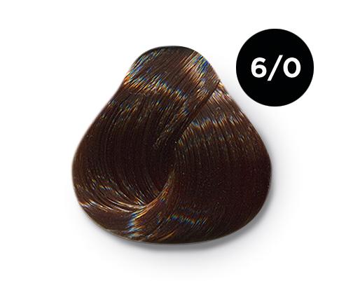 OLLIN PROFESSIONAL 6/0 краска для волос, темно-русый / OLLIN COLOR 100 мл, Темно-русый  - Купить