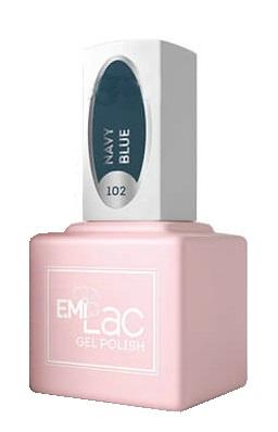 Купить E.MI 102 SCO гель-лак для ногтей, Нэви Блю / E.MiLac 6 мл, Зеленые