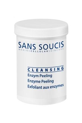 SANS SOUCIS Пилинг энзимный 2% / Enyzyme Peeling 60грПилинги<br>Папаин, экстракт папайи обеспечат интенсивное очищение кожи, нежно удаляет омертвевшие клетки кожи, улучшает цвет лица. Экстракт бамбука- природный эксфолиант, богатый кремнием. Содержит полисахариды, аминокислоты, витамины, минеральные соли. Способствует увлажнению кожи, восстановлению ее основных биологических функций. Экстракт корня гипсофилы оказывает очищающее действие и содержит сапонины. Баланитес египетский оказывает питательный, увлажняющий, регенерирующий и антиоксидантный эффект. Рекомендовано: чувствительной, поврежденной, зрелой кожи Результат: интенсивное очищение кожи. Активные ингредиенты: микрокристаллическая целлюлоза, натрия метил олеоил таурат, лаурилсаркозинат натрия, порошок экстракта бамбука, дистеарат сахарозы, вода, экстракт корня гипсофилы, баланитес египетский экстракт, папаин,экстракт папайи, экстракт акации Способ применения: Размешайте 5 г порошка в теплой воде (взбить в пену) и нанести на влажную кожу лица, шеи и декольте, избегая области вокруг глаз. Время экспозиции 2-3 мин. Затем слегка промассировать кожу и смыть препарат водой.<br><br>Объем: 60 гр<br>Типы кожи: Чувствительная