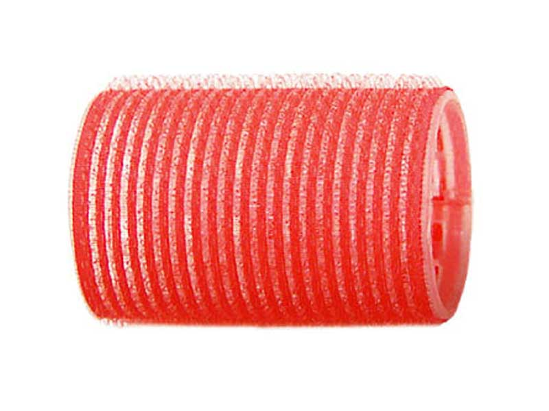 SIBEL Бигуди-лип.(10)S 43мм красные 6шт/уп Sibel-