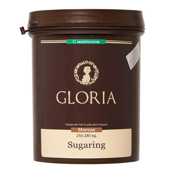 GLORIA Паста для шугаринга Gloria мягкая с ментолом 0,8 кг оборудование по производству пасты шугаринга