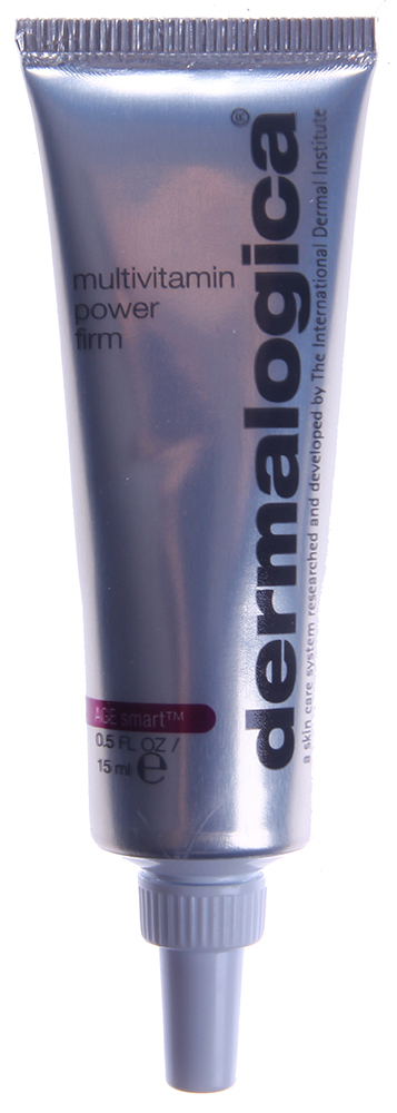 DERMALOGICA Лифт мультивитаминный для глаз и губ / MV Power Firm Eye &amp; Lip Area AGE SMART 15млКремы<br>Мультивитаминный Лифт глаза и губы MV Power Firm eye &amp;amp; lip area эффективно устраняет признаки преждевременного старения чувствительных участков кожи   губ и глаз. Ретинол пальмитат (витамин A), аскорбиновая кислота (витамин C) и ацетат токоферола (витамин Е) ускоряют процесс естественного восстановления кожи, усиливают эластичность, разглаживают поверхность и защищают от свободных радикалов. Corallina Officinalis (красная водоросль) усиливает упругость кожи, уменьшая тонкие линии. Органические силиконы предупреждают потерю влаги и защищают чувствительную кожу. Camellia Sinensis (Зеленый чай) обеспечивает защиту от свободных радикалов, успокаивает кожу и угнетает металлопротеиназы.&amp;nbsp; Активные ингредиенты: Витамин А, витамин Е, витамин С, красная водоросль, зеленый чай.&amp;nbsp; Способ применения: Наносите на кожу в области глаз утром и вечером, уделяя особое внимание зонам с признаками старения. Для максимального результата нанесите сначала небольшое количество MAP-15 Regenerator в области глаз, а затем MultiVitamin Power Firm.<br><br>Типы кожи: Чувствительная