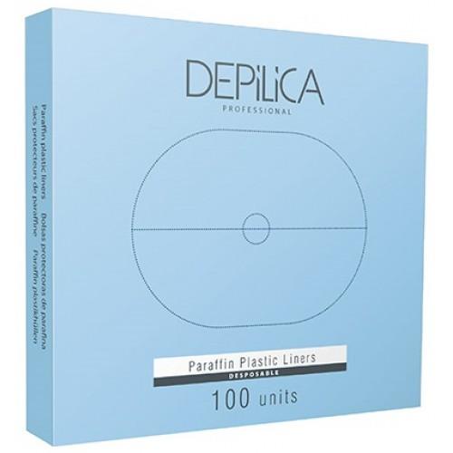 DEPILICA PROFESSIONAL Пакеты защитные пластиковые / Plastic Linners 100шт