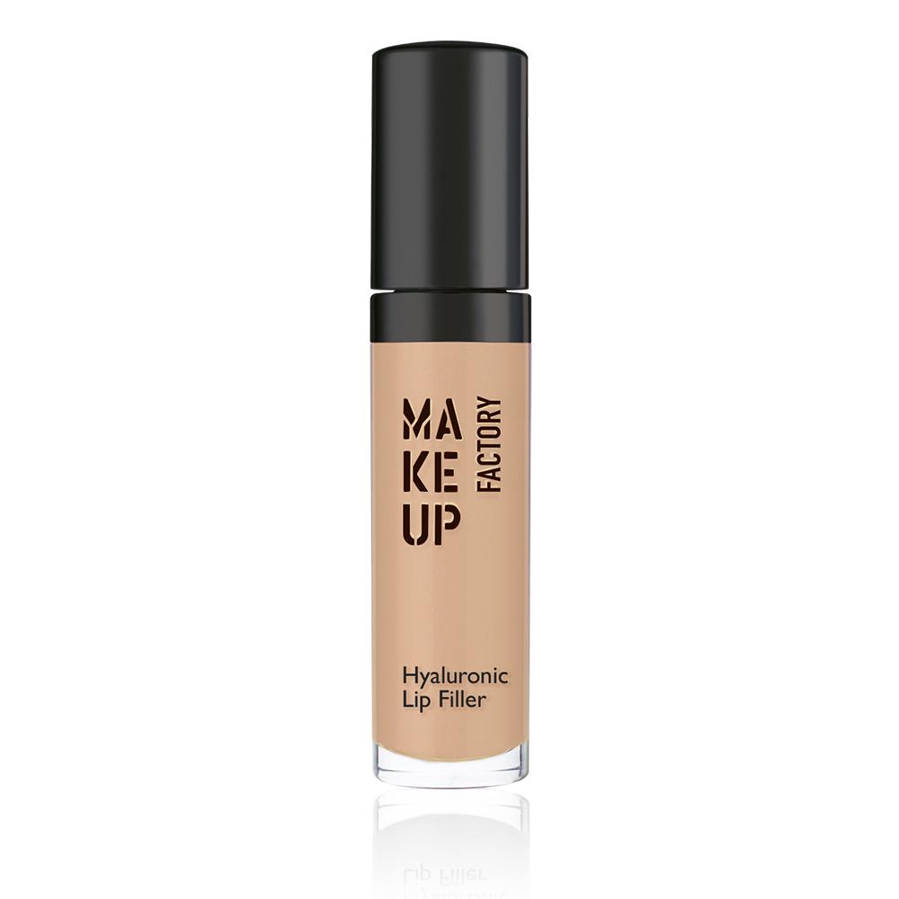 MAKE UP FACTORY Блеск для губ, 03 натуральный / Hyaluronic Lip Filler