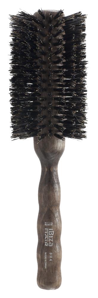 IBIZA HAIR Щетка круглая для укладки волос, диаметр 65 мм (красное дерево)