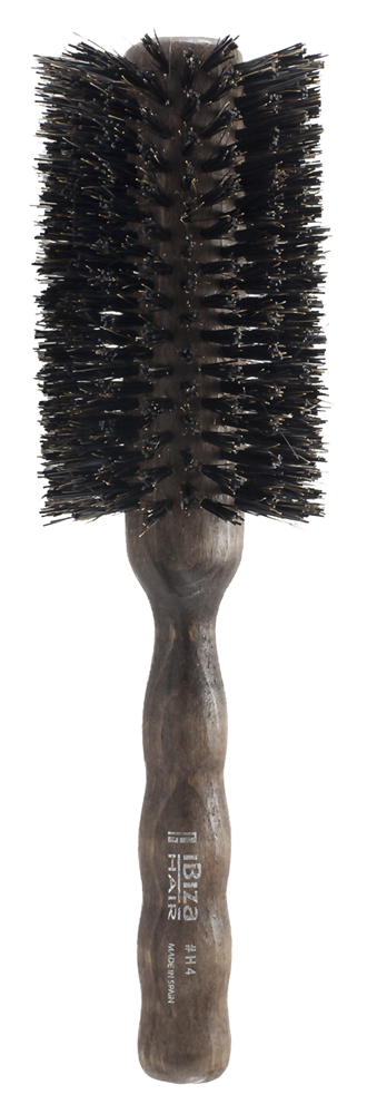 IBIZA HAIR Щетка круглая для укладки волос, диаметр 65 мм (красное дерево) - Брашинги