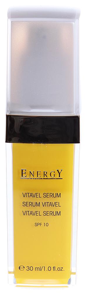 ETRE BELLE Сыворотка с витамином С / Vita Vel Serum 30млСыворотки<br>Легкая сыворотка с высоким содержанием витамина С. Витамин С заключен в капсулы и поэтому не окисляется, активизация происходит в момент нанесения сыворотки на кожу. В коже аскорбил-фосфат магния (составляющие витамина С) превращается при ферментативных процессах в витамин С. Сыворотка VitaVel является защитой от свободных радикалов, выравнивает структуру кожи, запускает регенеративные процессы в коже. Кожа становится живой, бархатистой и упругой. SPF 12 Показание: Для всех типов кожи, особенно для требующей регенерации кожи. Активные вещества: Витамин С, огуречный экстракт, лактоза, витами Е, пшеничный протеин, лецитин. Способ применения: Использовать средство утром и вечером, после чего необходимо нанести средство по уходу за кожей.<br><br>Вид средства для лица: Легкий