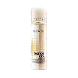 REDKEN Кондиционер-уход двухфазный для теплых оттенков блонд Голд / BLONDE IDOL 250млКондиционеры<br>Сочетает в себе компоненты, которые продлевают жизнь яркому и насыщенному цвету ваших волос. В двухуровневой формуле гармонично сочетаются увлажняющий крем и спрей, укрепляющие кутикулу и защищающие от негативной окружающей среды. Укрепление волокон, защита от агрессивной окружающей среды, увлажнение, смягчение. Способ применения: Взболтать флакон перед применением, нанести на влажные или сухие волосы. Не смывать.<br><br>Цвет: Блонд<br>Вид средства для волос: Двухфазный